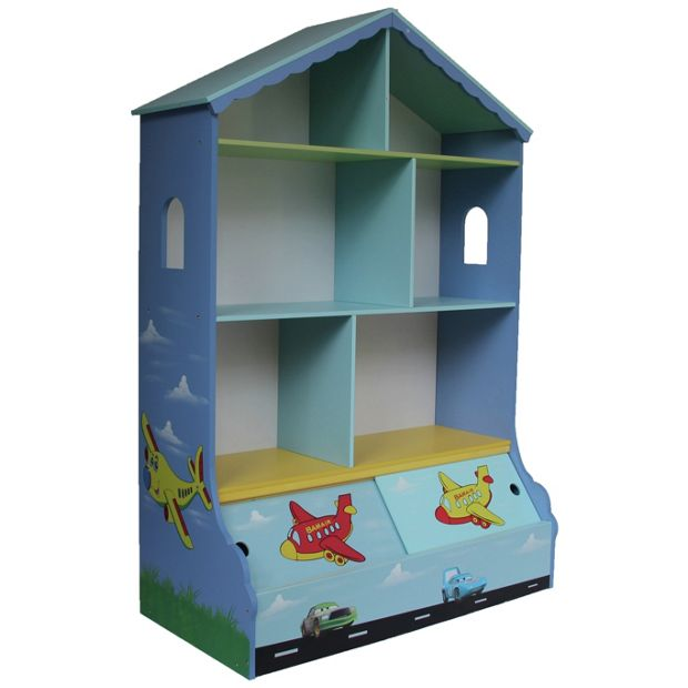 buy liberty house toys transport bookshelf with storage. Black Bedroom Furniture Sets. Home Design Ideas