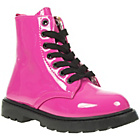more details on Barratts Girls' Pink Neon Lace Up Ankle Boots.