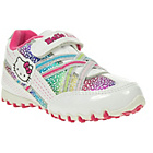 more details on Hello Kitty Girls' White Rainbow Velcro Trainers.