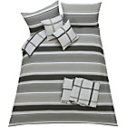 more details on Frazer Grey Bedding Set - Kingsize.