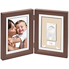 more details on Baby Art Brown and Beige Print Frame.