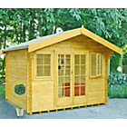 more details on Homewood Clipstone Wooden Cabin - 12 x 10ft.