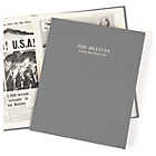 more details on Signature Gifts The Beatles Grey Linen Newspaper Book.