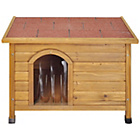 more details on RabbitShack Flat Roof Dog Kennel - Medium.