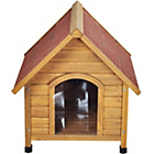 more details on DoggyShack Apex Roof Dog Kennel - Medium.