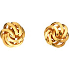 more details on 9ct Gold Knot Stud Earrings.