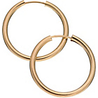 more details on 9ct Gold Hoop Earrings 18mm.