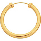 more details on 9ct Gold Men's Hoop Earring.