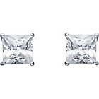 more details on 9ct White Gold Square Cubic Zirconia Stud Earrings.