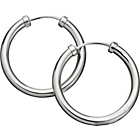 more details on 9ct White Gold Capped Hoop Earrings.