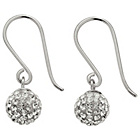 more details on Sterling Silver Crystal Ball Drop Earrings.