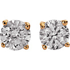 more details on 9ct Gold 0.25ct Diamond Solitaire Stud Earrings.