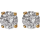 more details on 9ct Gold 0.50ct Diamond Solitaire Stud Earrings.