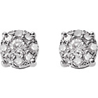 more details on Sterling Silver 0.25ct Diamond Earrings.