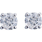 more details on 9ct White Gold 0.25ct Diamond Solitaire Stud Earrings.