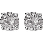 more details on 9ct White Gold 0.50ct Diamond Solitaire Stud Earrings.