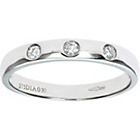more details on Made For You 9ct White Gold Diamond 3mm Wedding Ring