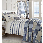 more details on Premier Penzance Embellished Blue Duvet Cover Set - Kingsize
