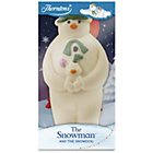 more details on Thorntons Snowman and Snowdog.