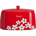 more details on HOME Red Scatter Floral Bread Bin.