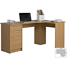 more details on Large Corner Desk - Oak Effect.