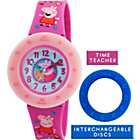more details on Peppa Pig Plastic Time Teacher Watch.