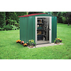 Arrow Apex Metal Garden Shed - 6 x 5ft