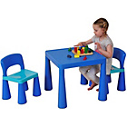 more details on Liberty House Toys Multi-Purpose Table Set - Blue.