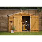 more details on Larch Lap Wood Overlap Bike Garden Store.