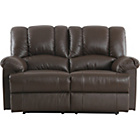 more details on Collection Diego Regular Leather Sofa - Chocolate.