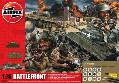 Airfix 70th Anniversary D-Day Battlefront 1:72 Model Kit