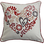 more details on Heart of House Juliette Cushion - Cranberry.