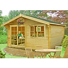 more details on Homewood Abbeyford Wooden Cabin - 14 x 14ft.