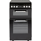 more details on Bush BFEDC50B Double Electric Cooker - Black/Ins/Del/Rec.