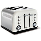 more details on Morphy Richards 242005 Accents Four Slice Toaster - White.