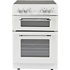 more details on Bush BFEDC60W Double Electric Cooker - White/Ins/Del/Rec.