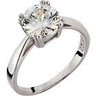 more details on Platinum Plated Silver 2.00ct Look Cubic Zirconia Ring.