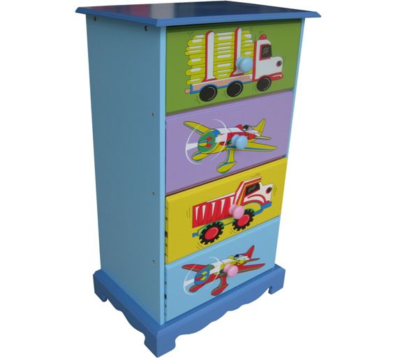 buy liberty house toys transport 4 drawer storage unit at. Black Bedroom Furniture Sets. Home Design Ideas