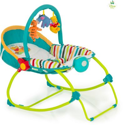Disney Baby 2 in 1 Bouncer - Pooh Tidy Time
