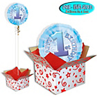more details on Happy 1st Birthday Balloon in a Box.