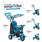 more details on Smart Trike Touch Steering 4-in-1 Safari Ride On - Monkey.
