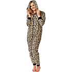 more details on Gold Rush Women's Leopard Print Onesie.