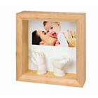 more details on Baby Art Photo Sculpture Frame - Natural.