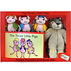 more details on The Puppet Company 3 Little Pigs and Wolf Finger Puppets.