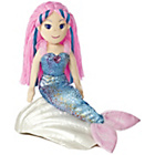 more details on Aurora World Sea Sparkles Mermaid Nixie Plush Toy.