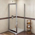 more details on Eliana Linden Pivot 760mm x 760mm Shower Enclosure.