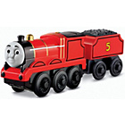 more details on Thomas & Friends Wooden Railway Battery Operated James.