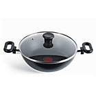 more details on Tefal Madras 26cm Khadai and Glass Lid.