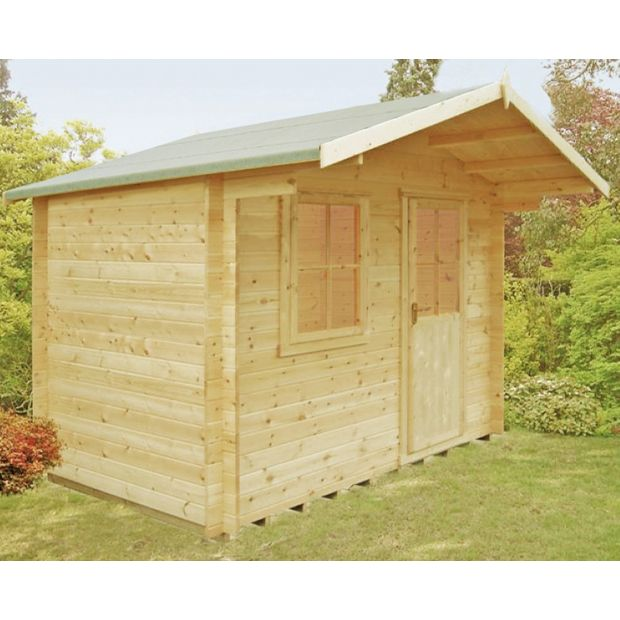Buy Homewood Selwood Wooden Cabin 12 X 8ft At