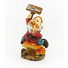 more details on Welcome Gnome Clay Garden Ornament.